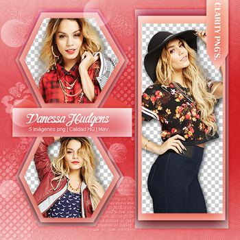 Pack png Vanessa Hudgens by iWillNotSurrender