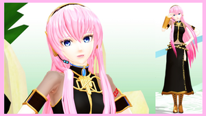 Megurine Luka Model by hzeo