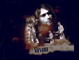 Nirvana Wallpaper by MozartXD