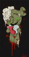 Commission: Zombie Bear Hugs 4 You by The1WolfDemon