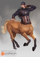 Steed Rogers by rachelhuey88