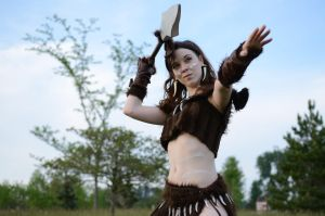 Colossalcon 2013 Nidalee by WesternVagabond