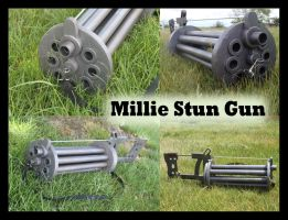 Millie Stun Gun Collage by meanlilkitty