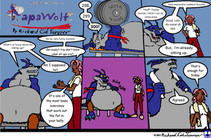 Papawolf comic 42 by NightCrestComics