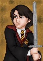 Neville Longbottom by comicalclare