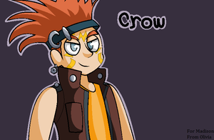 Crow Hogan Is On Your Computer!!! by CutePoochyena261