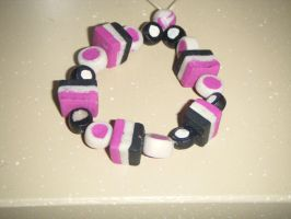 Pink black and white doly mix by MadeByJanine
