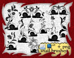 Snail Brushes by roula33