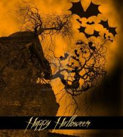 Spooky Halloween Greeting by BH11305