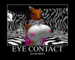eye concact by glitchuser