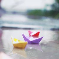 Paper Boat . . . by Miss-Photo