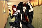 Talon and Semira by Darkness-Rules-All