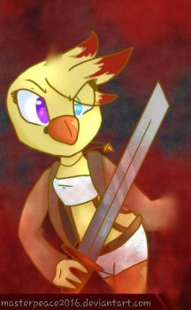 Chica FazStanton ((Gift!)) by MasterPeace2016