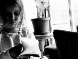 Gwen's a Reader by mshernock