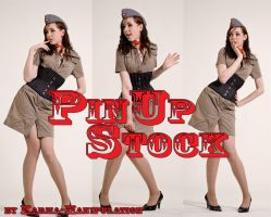 Pinup Stock Set - Standing by Karma-Manipulation