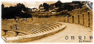 Ohrid Amphitheatre by mitatos