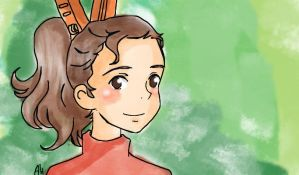 The Borrower Arrietty by asami-h
