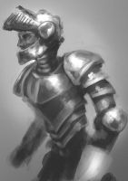 shiny knight by Nowio