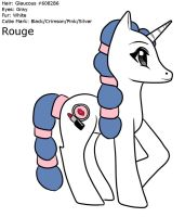 MLP - Rouge Profile FIN by Wildnature03