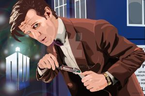 The 11th Doctor by jash99