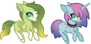 closed adopts: gradient manes by ivyhaze