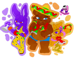 Fnaf As In Samba Style by sheezy93
