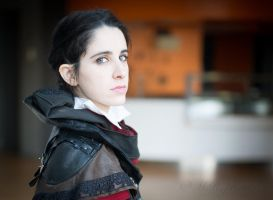 Evie Frye - the relentless Master Assassin by Nymie