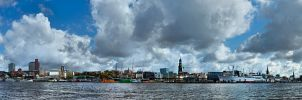 Hafen Hamburg Panorama by Bull04