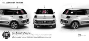 Smashing Boundaries - FIAT 500L by S-Sheen