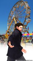 Playground - Chris Redfield by mayarokuaya