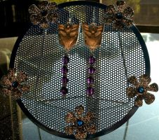 Decepticon Earrings - Backlit by Lunatron