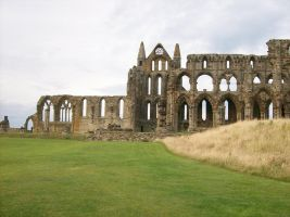 Whitby Abbey 2 by NoxNoctisUmbra