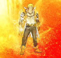 Laxus The Lightning Dragon Slayer by fullmetaljuzz