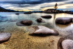 Tahoe Late Afternoon by sellsworth