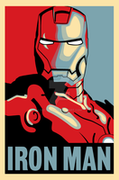 Iron Man Hope Style Poster by Vectorix