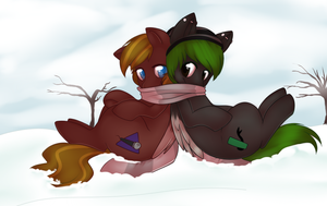Snow day! by CrispyCreme