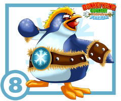Snowmad Tuck Card #8: Big Sphen by UncleLaurence