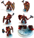 Rashidi, Pre-Heresy Thousand Sons Boarding Marine by skycat