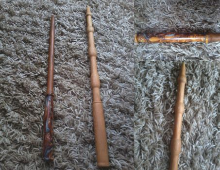 Wands I Made by ceeceftw