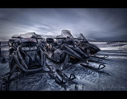 Riders of the Snow by wchild