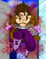 SSJ4 Vegetto by dskemmanuel