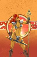 Red Sonja by JoeSoul
