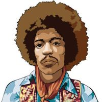 Jimmy Hendrix by muravei
