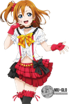 Honoka Kousaka - Love Live! (Render) by niu-gl0
