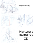 Martyna's sketchs MADNESS. by Martyna-Chan