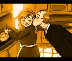 HP - Molly and Arthur by Robynium