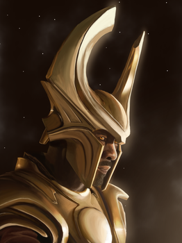Heimdall by PrincessSaros