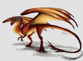 Red Dragon by quinnk