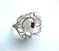 Rose Sisters Ring by sojourncuriosities