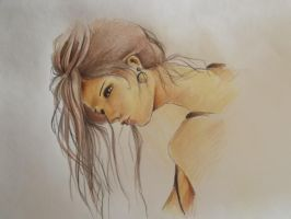 Girl in Brown by CaterinaOrlando